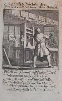 Weigel, Christoph: Der Buchdrucker ( A könyvnyomtató) (The book printer)