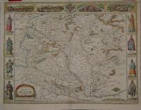 Speed, John: THE MAP OF /HUNGARI / newly augmented by Iohn Speede/ Ano Dom: 1626/ Are to be in Pops-head Alley/ by George Humble. Anno 1626